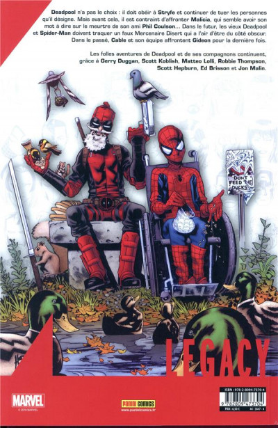 Dos Marvel legacy - Deadpool tome 4