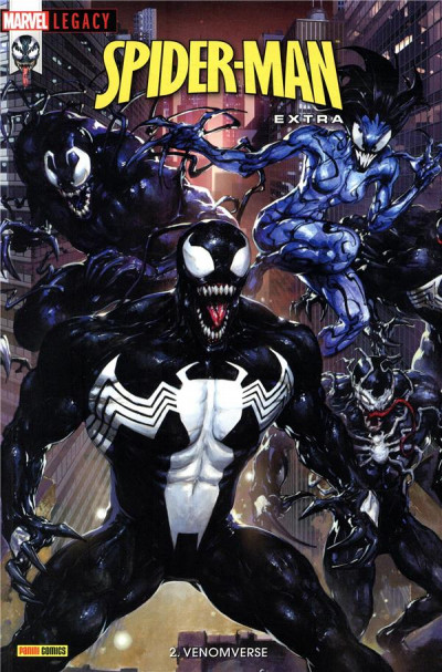 Couverture Marvel legacy - Spider-man extra tome 2