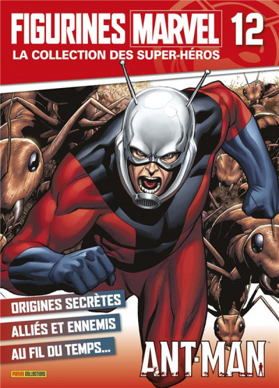 Couverture Figurine Marvel tome 12 - Ant-Man