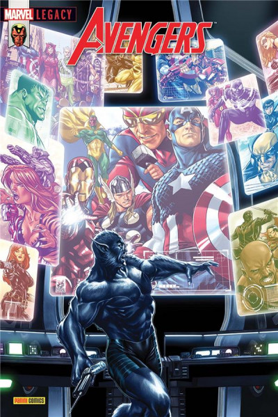 Couverture Marvel legacy - Avengers tome 5