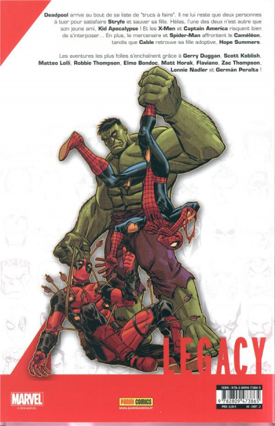 Dos Marvel legacy - Deadpool tome 5