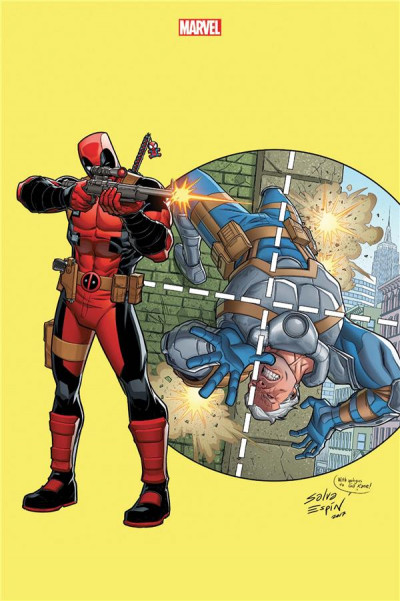 Couverture Marvel Legacy - Deadpool tome 5 (variant comic con)