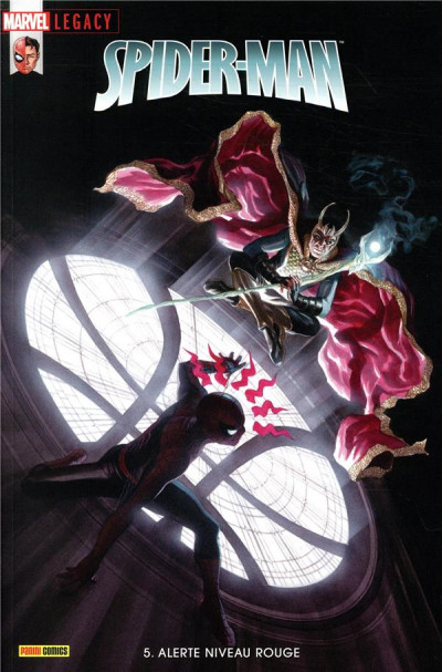 Couverture Marvel legacy - Spider-man tome 5