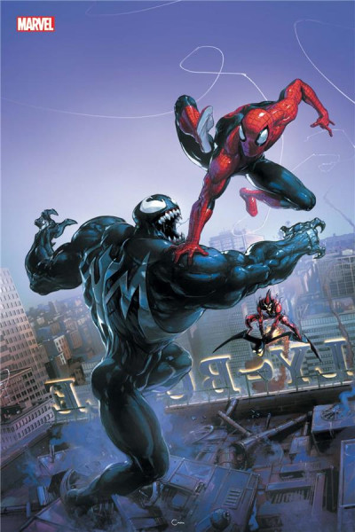 Couverture Marvel legacy - Spider-man tome 5 (variant Comic con)