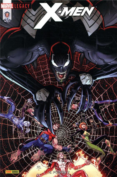 Couverture Marvel Legacy - X-Men tome 5