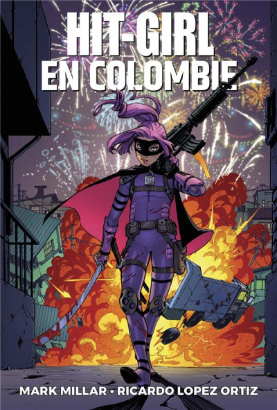 Couverture Hit girl tome 1
