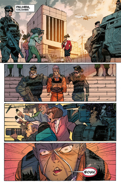 Page 5 Hit girl tome 1