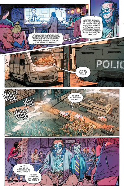 Page 7 Hit girl tome 1