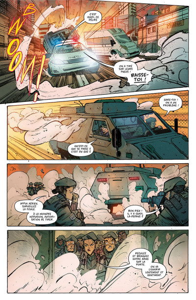 Page 9 Hit girl tome 1