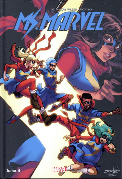 Couverture Ms. Marvel tome 8