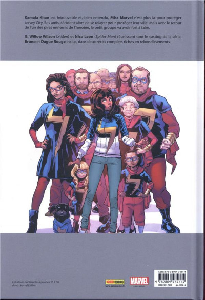 Dos Ms. Marvel tome 8