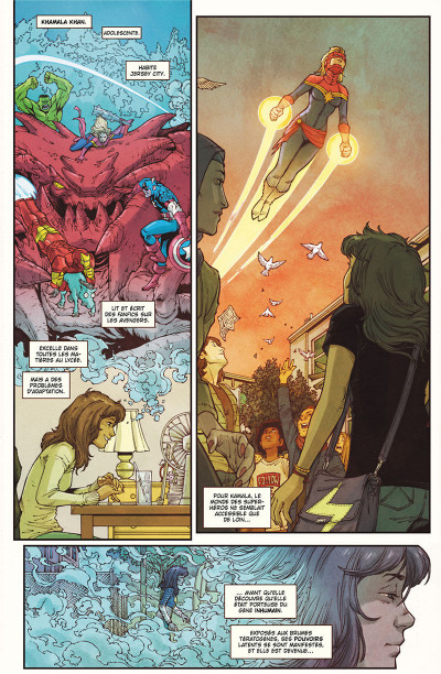 Page 5 Ms. Marvel tome 8