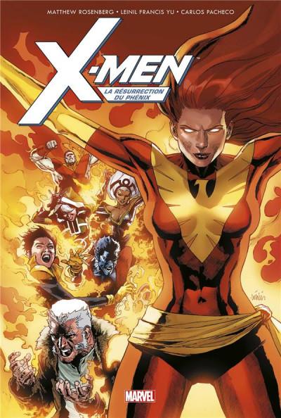 Couverture X-Men - La résurrection du phénix