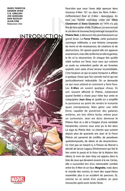 Page 3 X-Men - La résurrection du phénix