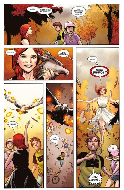 Page 8 X-Men - La résurrection du phénix