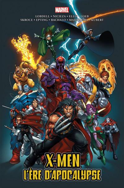 Couverture X-Men - L'ère d'apocalypse