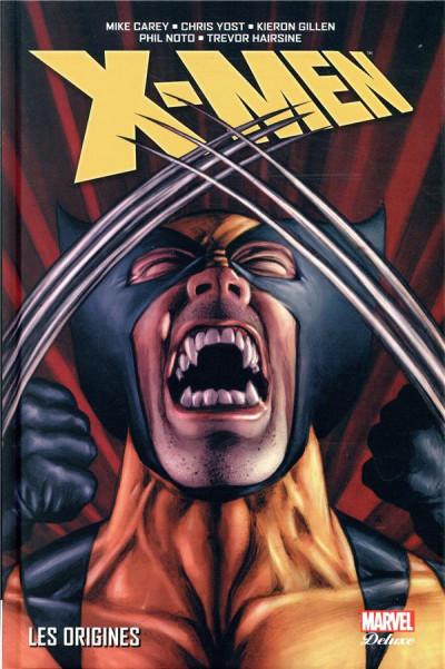 Couverture X-men - Les origines