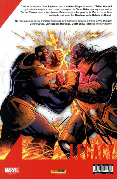 Dos Marvel legacy - marvel epics tome 3