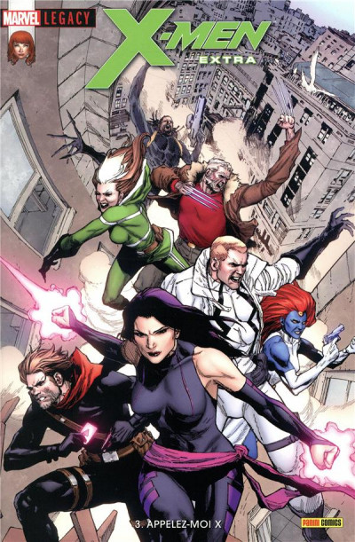 Couverture Marvel legacy - X-men extra tome 3