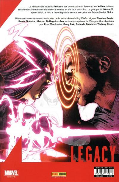 Dos Marvel legacy - X-men extra tome 3