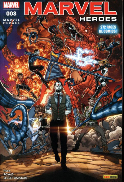 Couverture Marvel heroes tome 3