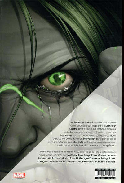 Dos Marvel heroes tome 3