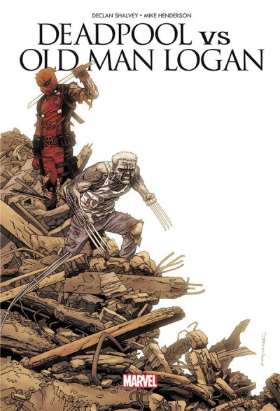 Couverture Deadpool VS old man Logan