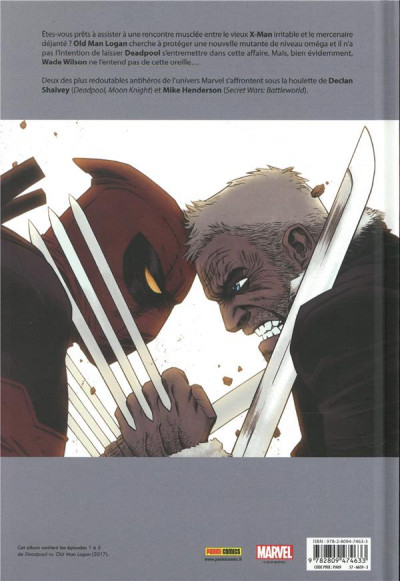 Dos Deadpool VS old man Logan