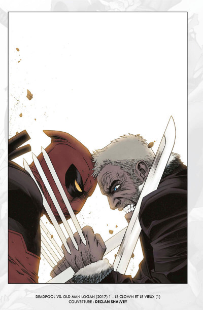 Page 4 Deadpool VS old man Logan