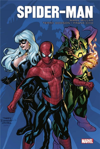 Couverture Spider-man par Millar et Dodson