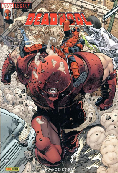 Couverture Marvel legacy - Deadpool tome 6