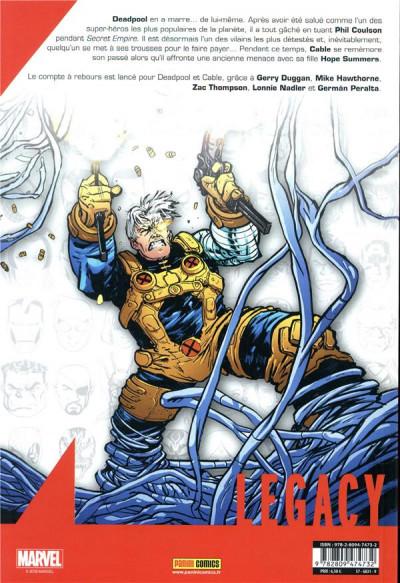 Dos Marvel legacy - Deadpool tome 6