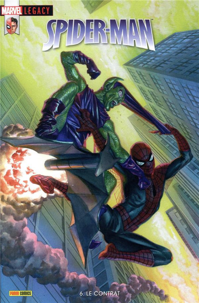 Couverture Marvel legacy - Spider-man tome 6