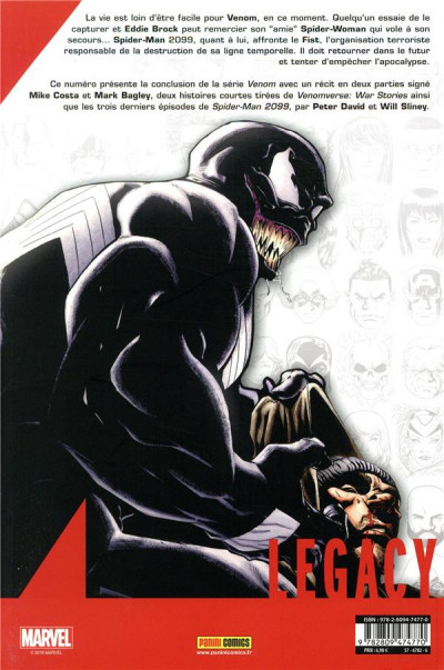 Dos Marvel legacy - Spider-man extra tome 3