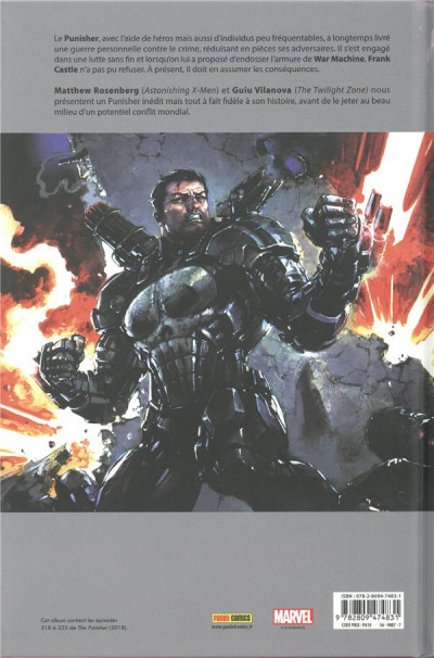 Dos Punisher legacy tome 1