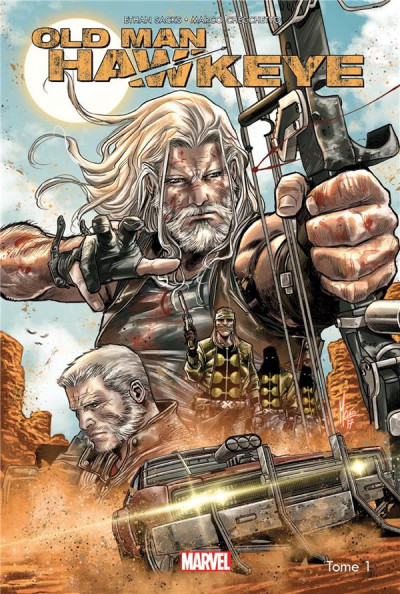 Couverture Old man Hawkeye tome 1