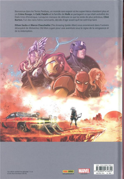 Dos Old man Hawkeye tome 1