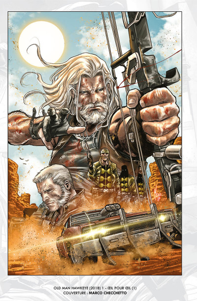 Page 4 Old man Hawkeye tome 1