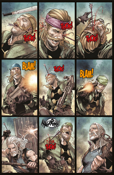 Page 9 Old man Hawkeye tome 1