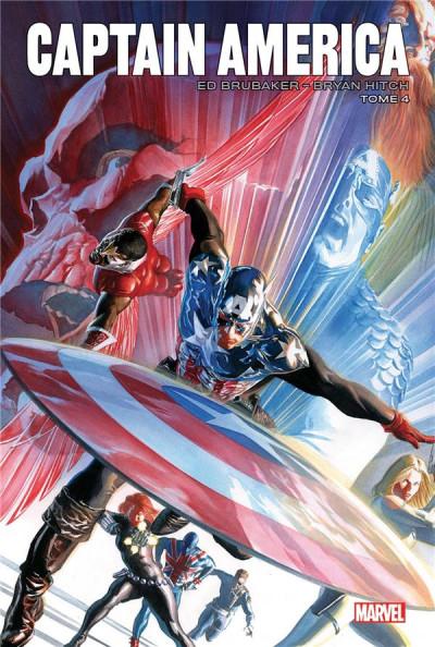 Couverture Captain America par Brubaker tome 4