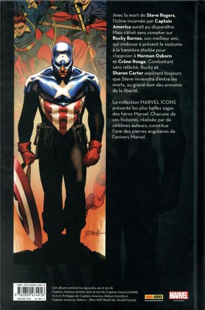 Dos Captain America par Brubaker tome 4