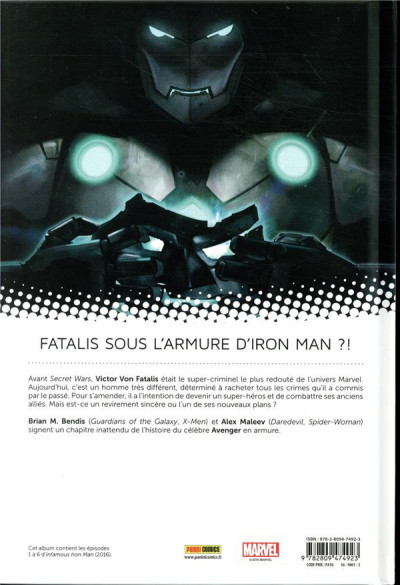 Dos Infamous Iron man tome 1