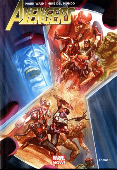 Couverture Avengers tome 1 - Guerre totale