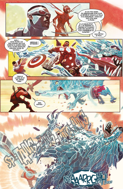 Page 8 Avengers tome 1 - Guerre totale