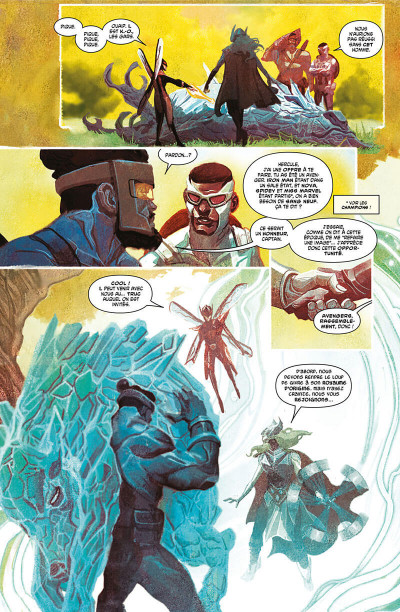 Page 9 Avengers tome 1 - Guerre totale