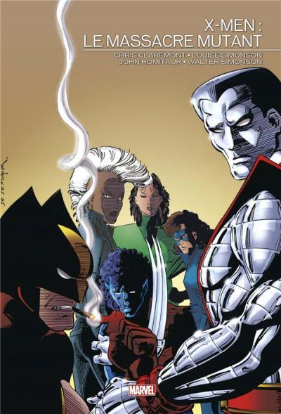 Couverture X-men - Le massacre mutant
