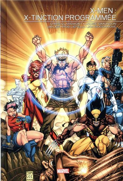 Couverture X-men - X-tinction programmée