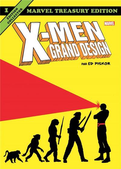 Couverture X-men - grand design tome 1