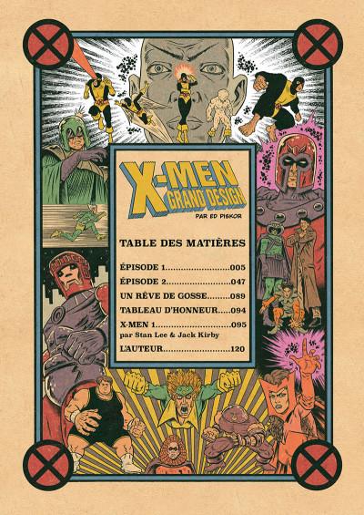 Page 3 X-men - grand design tome 1