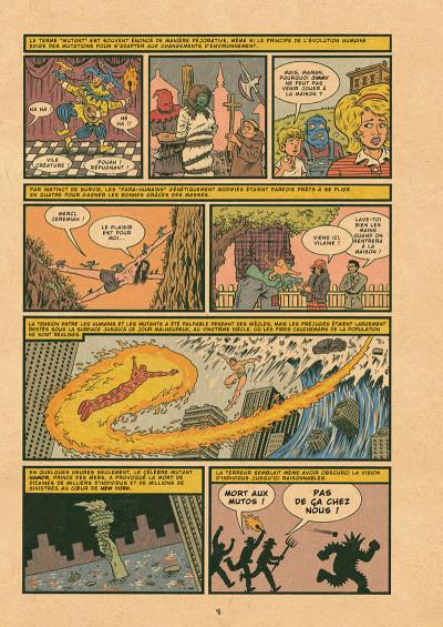 Page 8 X-men - grand design tome 1